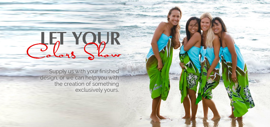 Design Your Own Sarong