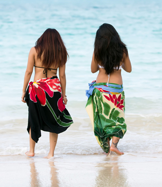About Pareo Island Sarongs